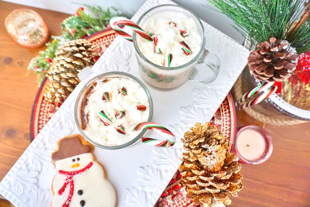 Holiday Drink Recipes - Candy Cane Hot Chocolate