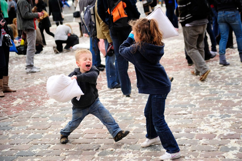 16 Awesome Things To Do In LA In April; International Pillow Fight Day